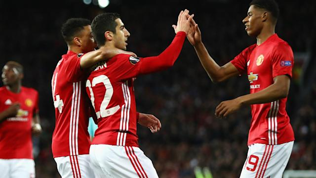 A win over Anderlecht saw Manchester United extend their unbeaten run at Old Trafford to 26 matches.