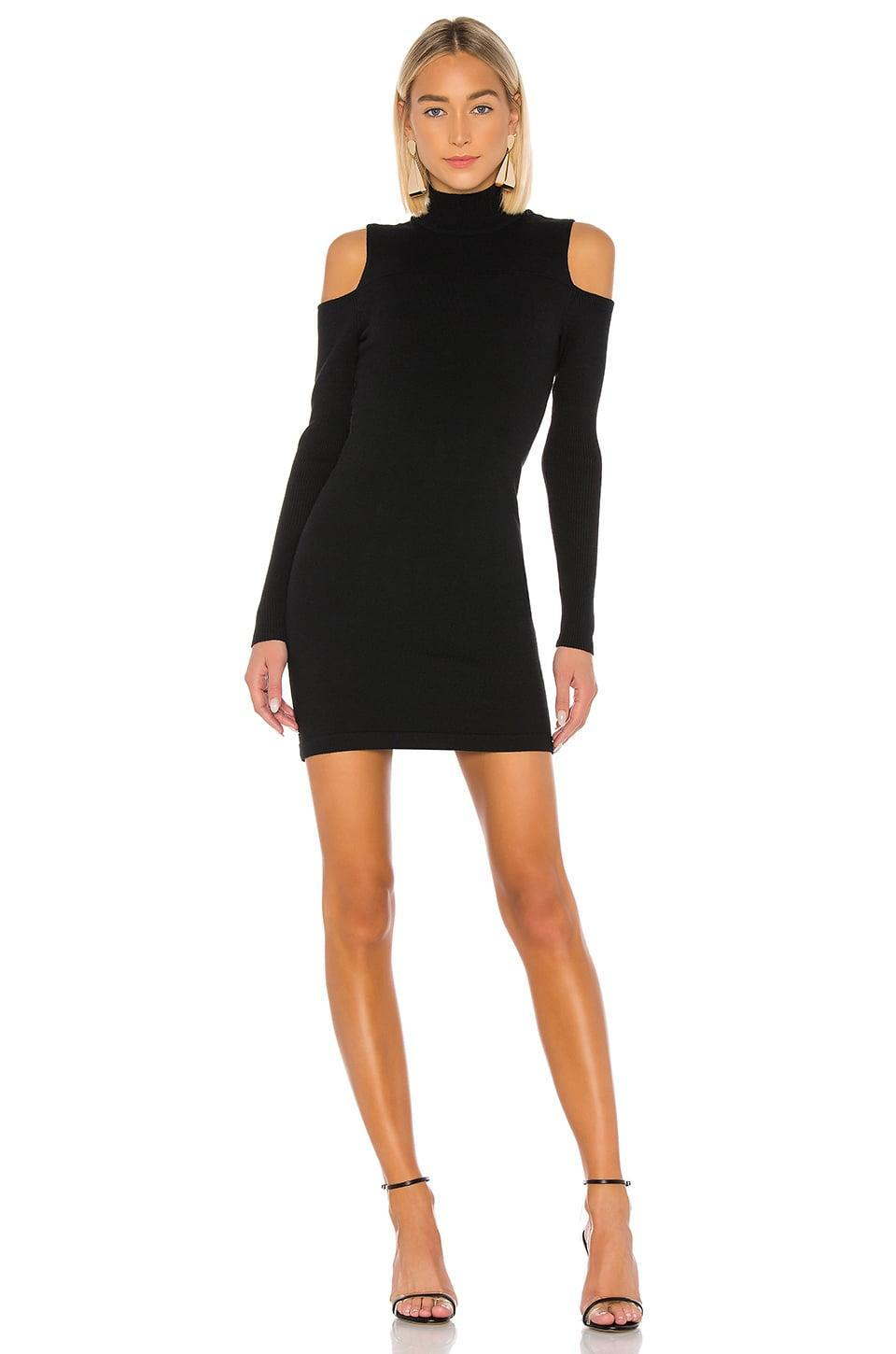 <p>We're into the cutouts on this <span>Camila Coelho Taylor Sweater Dress</span> ($158).</p>