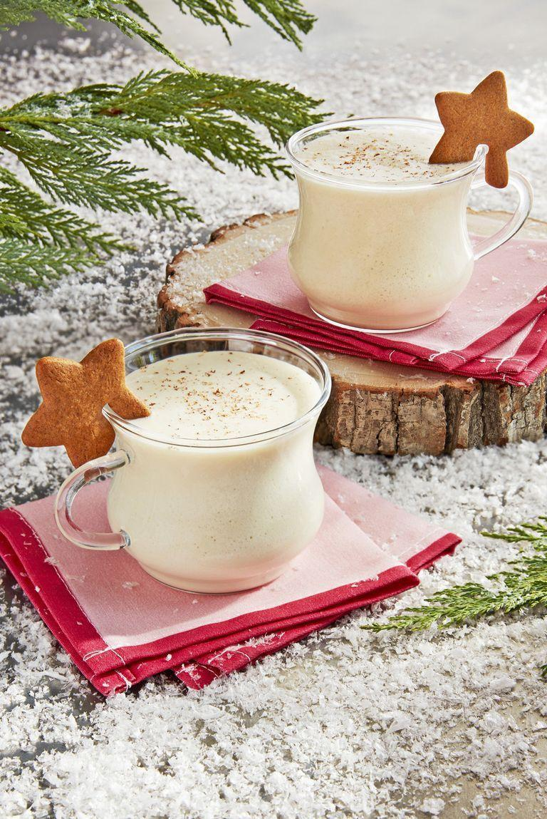 """<p>Take our word for it: As soon as you sip this spiced gingerbread eggnog, you're going to be inspired to bake a fresh batch of <a href=""""https://www.countryliving.com/food-drinks/g3604/gingerbread-cookie-recipes/"""" rel=""""nofollow noopener"""" target=""""_blank"""" data-ylk=""""slk:gingerbread cookies"""" class=""""link rapid-noclick-resp"""">gingerbread cookies</a> to go along with it.</p><p><strong><a href=""""https://www.countryliving.com/food-drinks/a25474615/gingerbread-eggnog-recipe/"""" rel=""""nofollow noopener"""" target=""""_blank"""" data-ylk=""""slk:Get the recipe"""" class=""""link rapid-noclick-resp"""">Get the recipe</a>.</strong> </p>"""