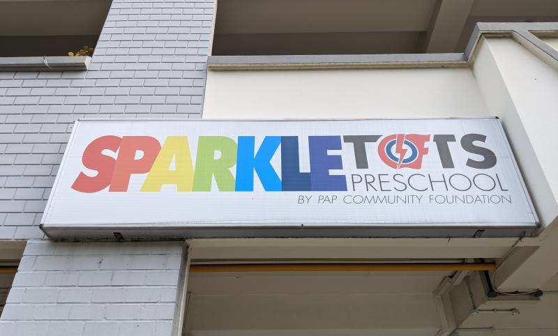 A PCF Sparkletots preschool in Woodlands. (Yahoo News Singapore file photo)