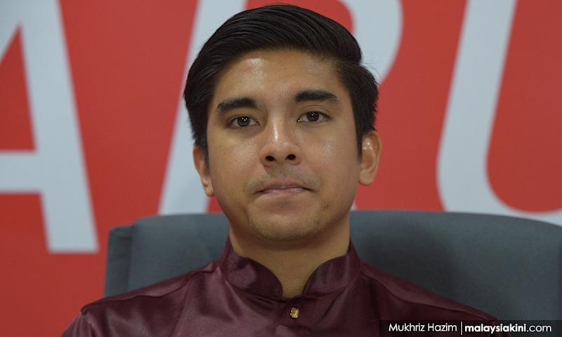 Eyes on Saddiq's next move after absence at Dr M's new party launch