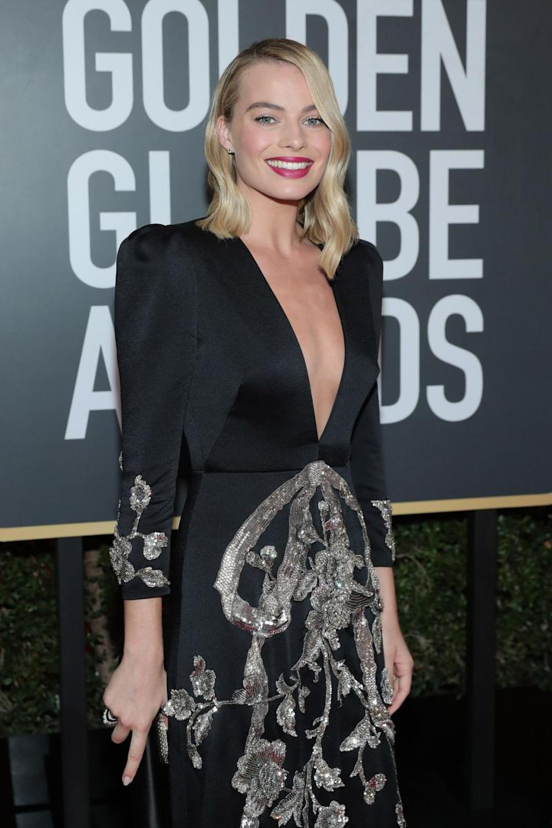 Margot Robbie is nominated for her role in I, Tonya. Photo: Getty