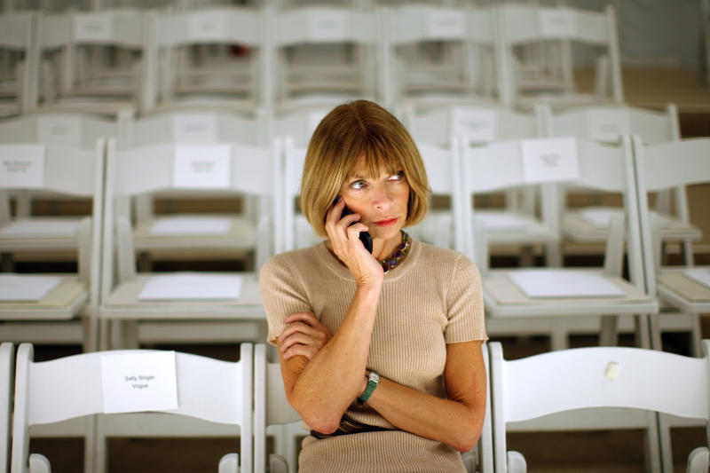Vogue editor Anna Wintour has led the magazine for over 30 years. A new exposé looks closely at the workplace she's created. (REUTERS/Eric Thayer)