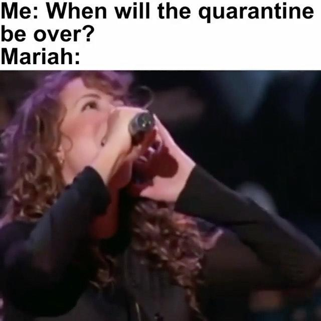"<p>Mariah sharing her own Mariah memes makes lockdown better</p><p><a href=""https://www.instagram.com/p/B_U-HQ2AfFu/"" rel=""nofollow noopener"" target=""_blank"" data-ylk=""slk:See the original post on Instagram"" class=""link rapid-noclick-resp"">See the original post on Instagram</a></p>"