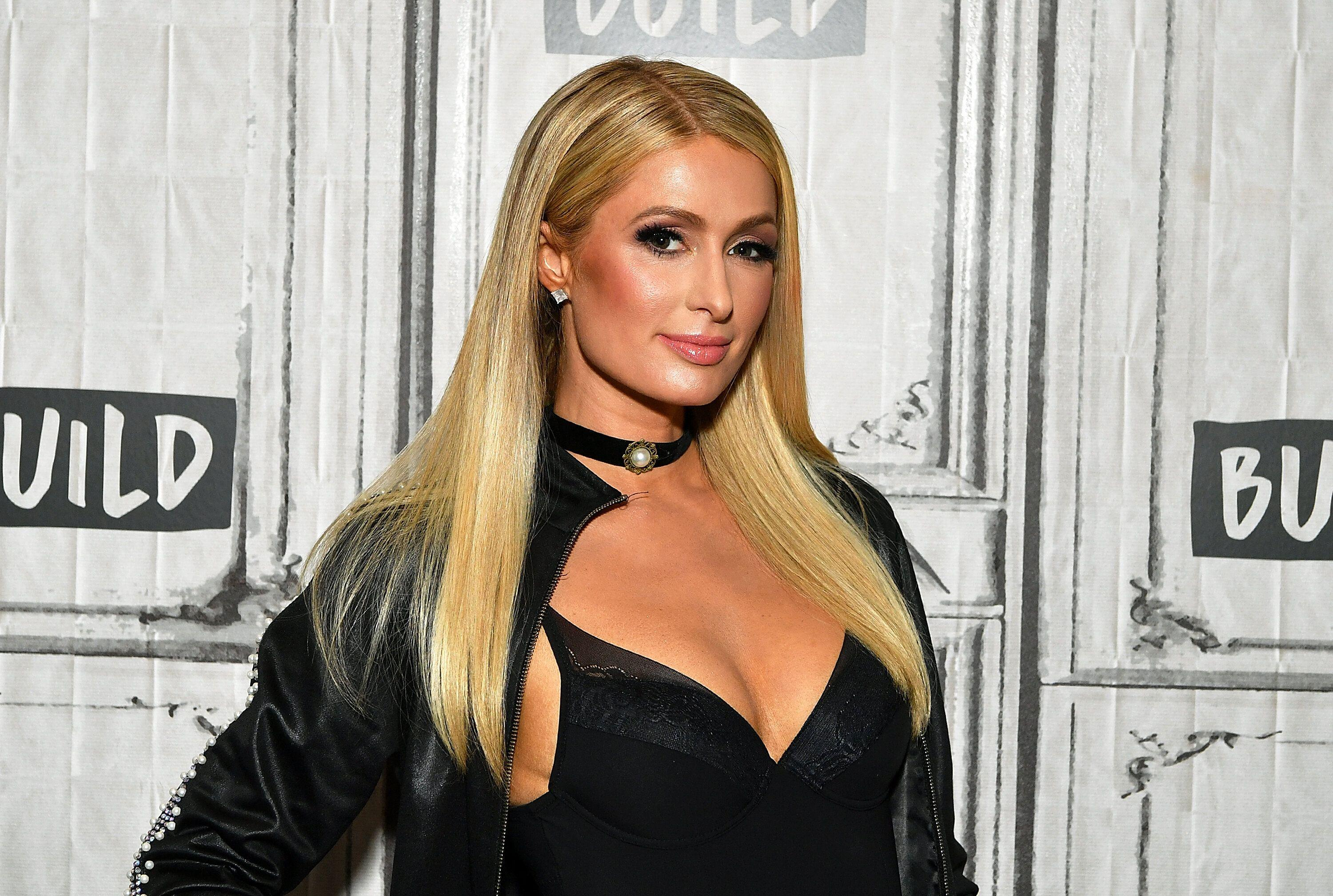 Paris Hilton visits BUILD Series to discuss her new music single.