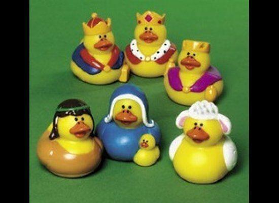 "Oestreicher used to be bothered when he would see nativity scenes depicting Jesus, Mary and Joseph as rubber ducks, but now he looks at products like these as ""whimsical attempts for people to engage in a mystery."""