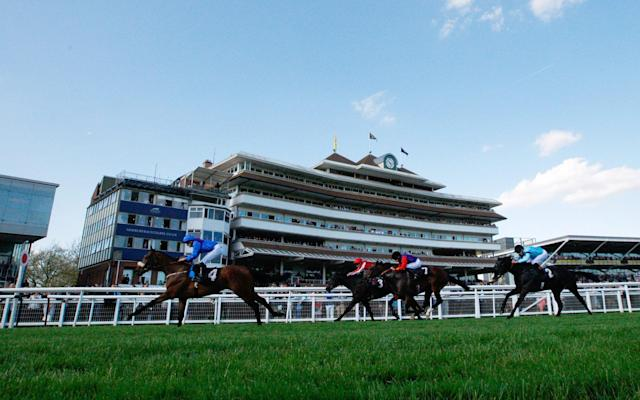 <span>There was drama at Newbury Racecourse on Friday</span>