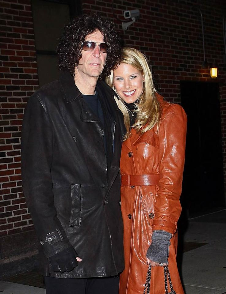 """Although Howard's on-air persona has gotten him a lot of haters, in real life he is quite sensitive and sweet. Just ask his lovely wife Beth Ostrosky, whom he married at NYC's Le Cirque in a ceremony officiated by Kelly Ripa's hubby Mark Consuelos in October 2008. Jeffrey Ufberg/<a href=""""http://www.wireimage.com"""" target=""""new"""">WireImage.com</a> - February 3, 2011"""