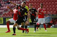 Robert Lewandowski returned after injury but Bayern Munich's defeat at Mainz means they will have to wait at least another week to win the Bundesliga