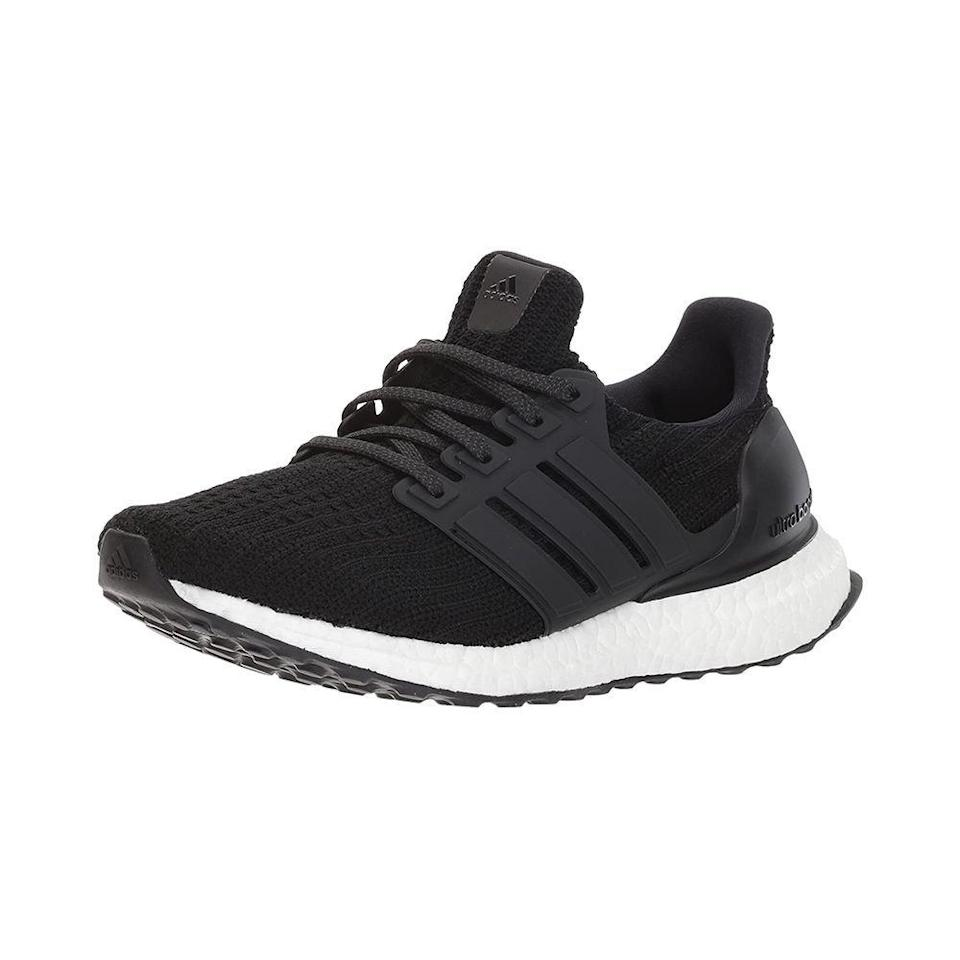 """<p><strong>adidas</strong></p><p>amazon.com</p><p><strong>$160.00</strong></p><p><a href=""""https://www.amazon.com/dp/B087F5CTK2?tag=syn-yahoo-20&ascsubtag=%5Bartid%7C10051.g.35279952%5Bsrc%7Cyahoo-us"""" rel=""""nofollow noopener"""" target=""""_blank"""" data-ylk=""""slk:Shop Now"""" class=""""link rapid-noclick-resp"""">Shop Now</a></p><p>Changing sneaker culture forever, Adidas proclaimed Ultraboosts to be the <a href=""""https://www.menshealth.com/uk/style/a753563/adidas-launches-ultra-boost-trainer/"""" rel=""""nofollow noopener"""" target=""""_blank"""" data-ylk=""""slk:greatest running shoe of all time"""" class=""""link rapid-noclick-resp"""">greatest running shoe of all time</a> upon its release. Six years later, many (myself included) would still agree. The latest iteration for 2021 is the cushiest version to date and is currently $20 off on Amazon in select sizes. </p>"""