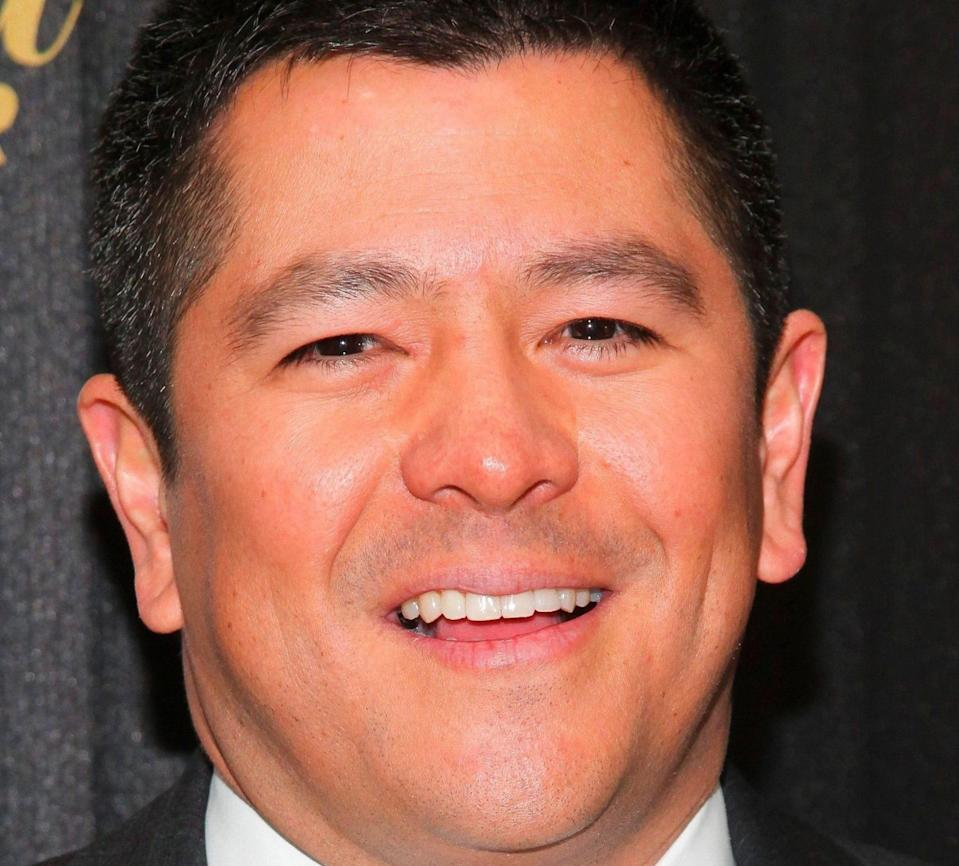 Mandatory Credit: Photo by Andy Kropa/Invision/AP/Shutterstock (9080944cj)Carl Quintanilla attends The Hollywood Reporter's