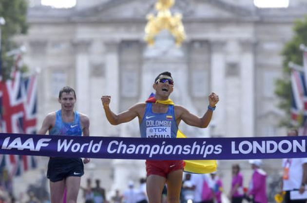 Athletics: Colombian pride as Arevalo takes gold in men's 20km walk