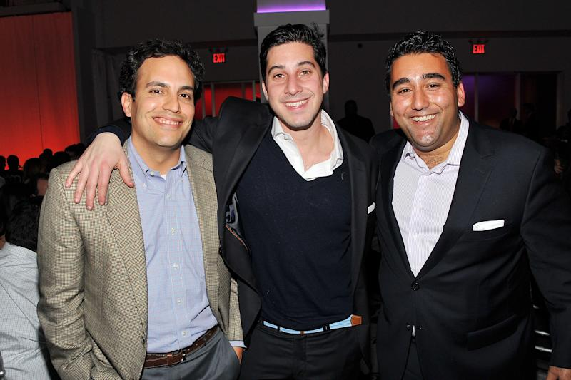 (L-R) Jeb Bush, Jr., Kairos Fellow Jonathan Shriftman, and guest attend the welcome dinner at the Kairos Society Global Summit at Espace on February 22, 2013 in New York City. (Photo by Theo Wargo/Getty Images for Kairos Society) -- Son of Jeb Bush & Columba Bush -- Brother of George P. Bush, Noelle Bush
