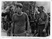 <p>Dennis Hopper and Martin Sheen are only some of the big names who starred in Francis Ford Coppola's <em>Apocalypse Now</em>. The wartime epic premiered in 1979 to rave reviews and was the film to see back in the late '70s. </p>