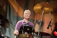 <p>Charlie Watts performs with The A,B,C,D of Boogie Woogie at Le New Morning on October 2, 2011 in Paris, France.</p>