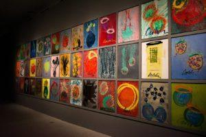 Chihuly Studio's 'Works on Paper' at the Glass In Bloom gallery. Photo: Coconuts