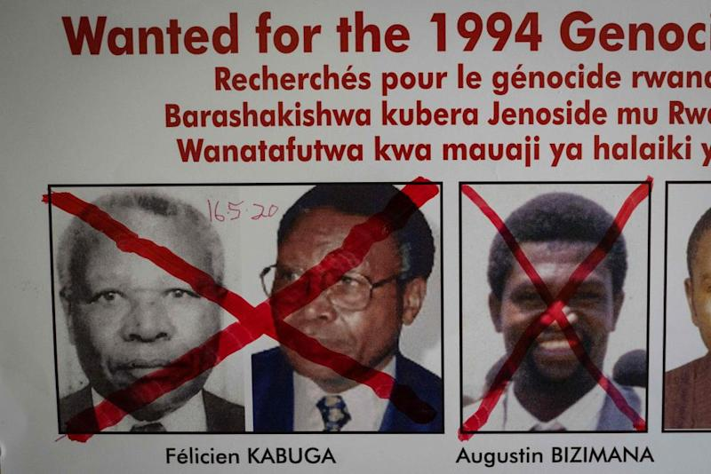 Félicien Kabuga on wanted poster