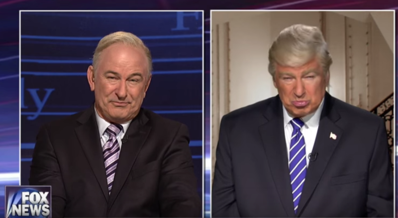 Alec Baldwin Multitasked as President Trump and Bill O'Reilly in His SNL Return