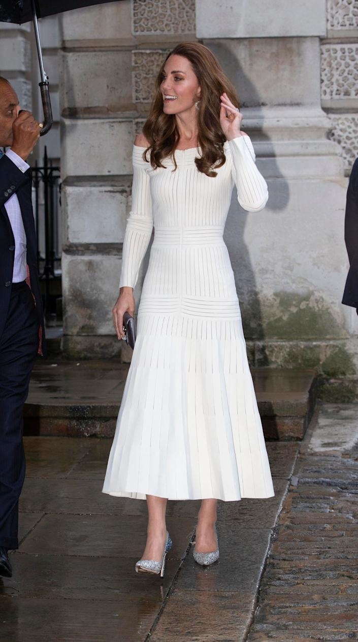 Kate attends the first annual gala dinner in recognition of Addiction Awareness Week on June 12 in London.