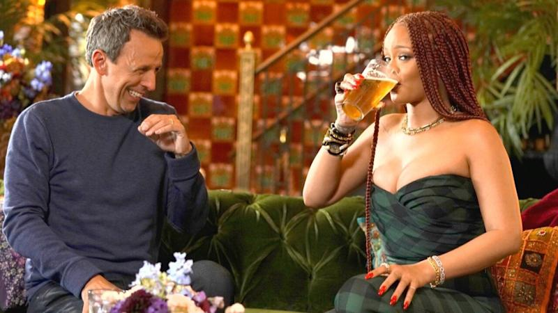 Seth Meyers Reveals the One Thing Rihanna Is Bad At -- and It's Sorta Surprising