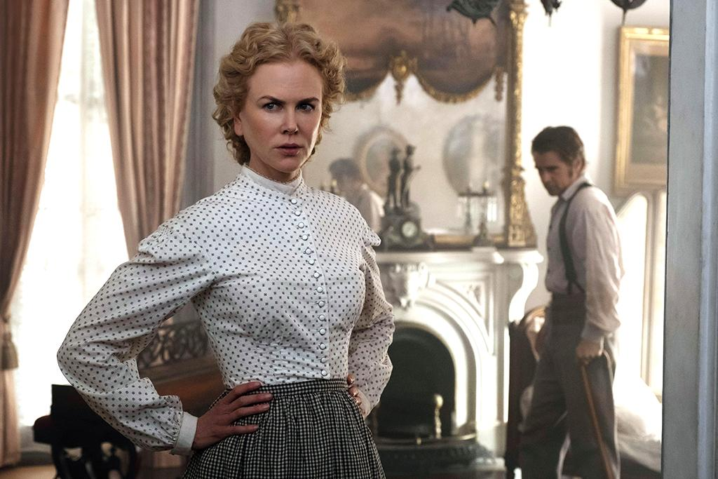 <p>Sofia Coppola's sumptuous Civil War drama focuses on the women left behind — specifically, the teachers and students at a Southern ladies' school, whose rigid lives are upended by the arrival of a wounded soldier (Colin Farrell). Tense as a drop of sweat waiting to fall, <i>The Beguiled</i> features gorgeous cinematography and some of Nicole Kidman's career-best furtive glances. —<i>G.W.</i> (Photo: Focus Features)<br /><br /></p>