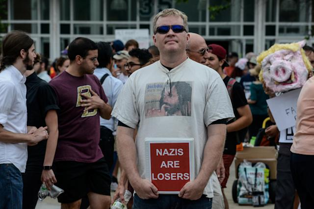 <p>A large crowd of people gathers ahead of the Boston Free Speech Rally in Boston, Mass., Aug. 19, 2017. (Photo: Stephanie Keith/Reuters) </p>