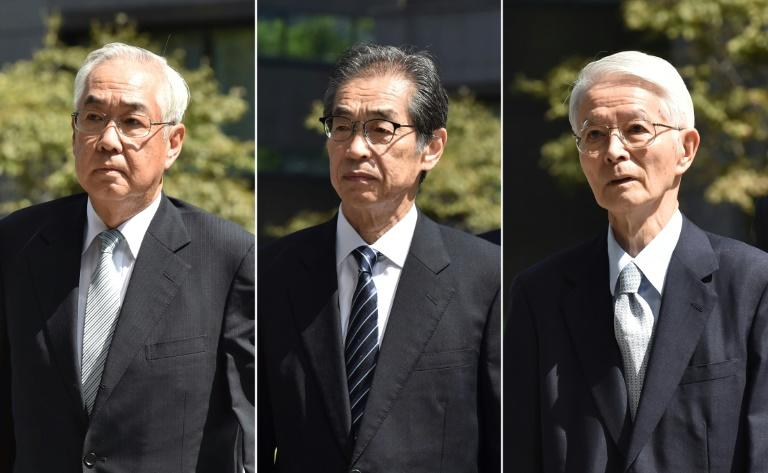 The three TEPCO executives had faced up to five years in prison if convicted (AFP Photo/Kazuhiro NOGI)