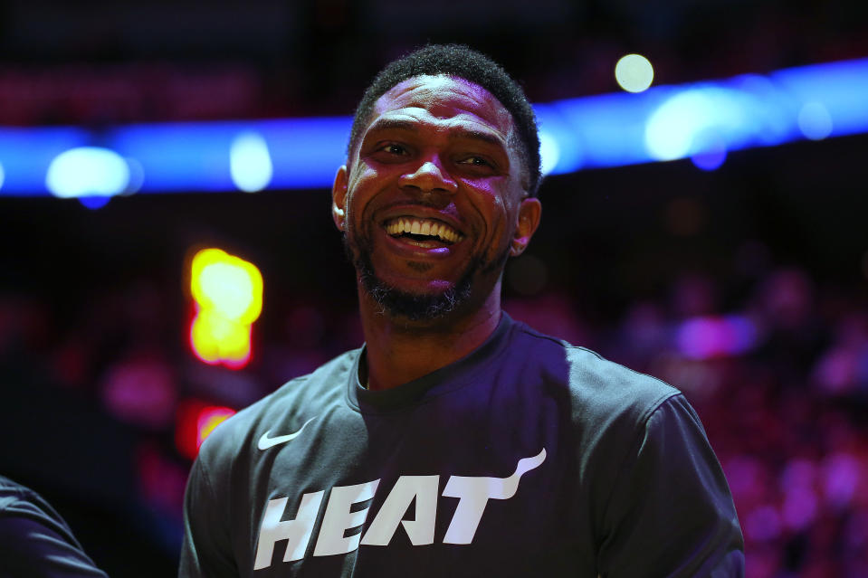 Udonis Haslem of the Miami Heat