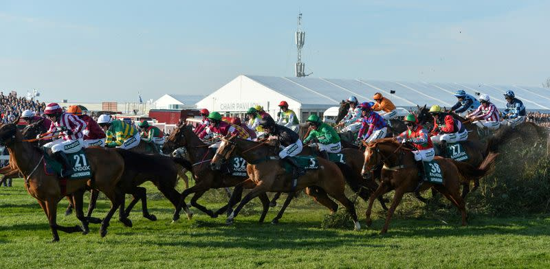 British horse racing suspended until the end of April