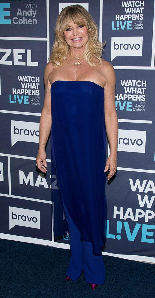 <p>The legendary comedic actress is enjoying a Hollywood renaissance of sorts, with her new movie <em>Snatched,</em> after ceding the limelight to daughter Kate Hudson for a while. (Photo: Charles Sykes/Bravo/NBCU Photo Bank via Getty Images) </p>
