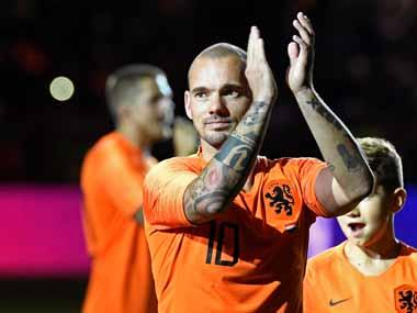 35-year-old former Real Madrid, Inter Milan midfielder Wesley Sneijder announces retirement from football