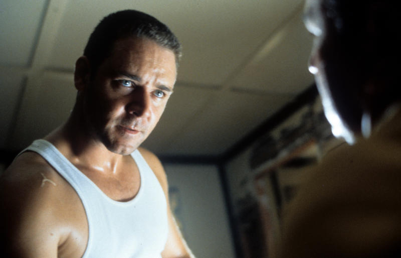 Russell Crowe in a scene from the film 'L.A. Confidential', 1997. (Photo by Warner Brothers/Getty Images)