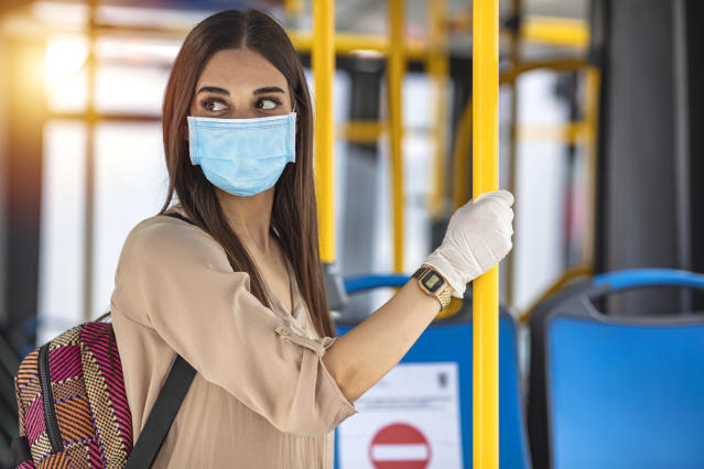Many people are concerned about their commute, the constant changes to their working environment and what their employers are doing to ensure their safety when they return. (Getty)