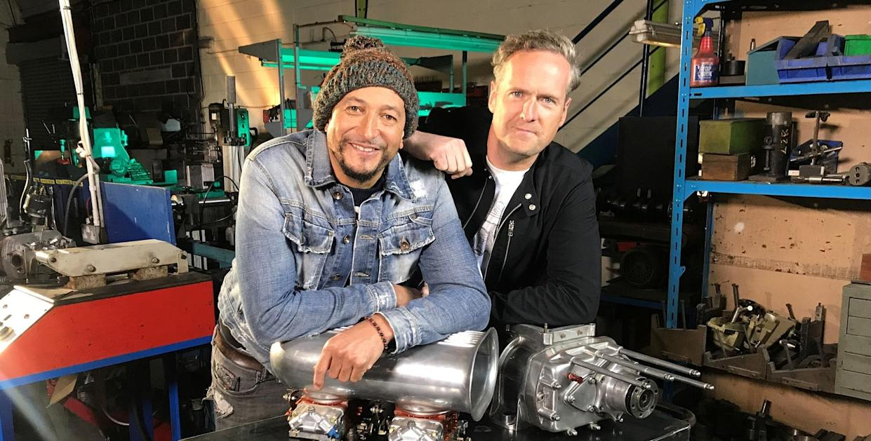 Fuzz Townshend and Tim Shaw of Car SOS