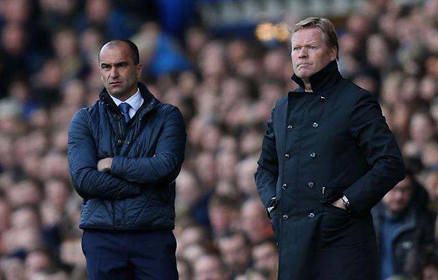 That was then: Roberto Martinez had to go – as Koeman must now as well