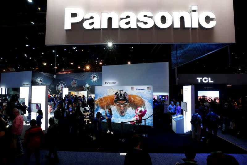 Tesla up 20% after Panasonic posts first quarterly profit at battery business