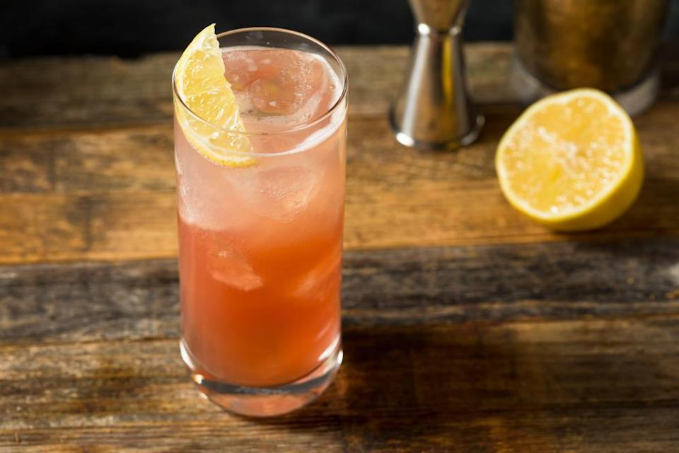 For a lemon and gin based cocktail, try Jazmine Quigley's zesty sloe fizz.