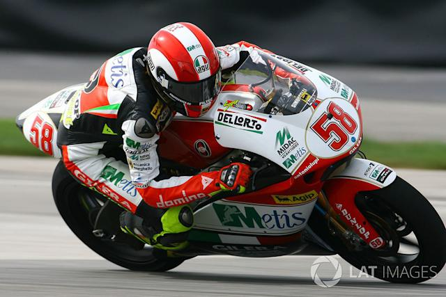 "Marco Simoncelli <span class=""copyright"">Gold and Goose / Motorsport Images</span>"