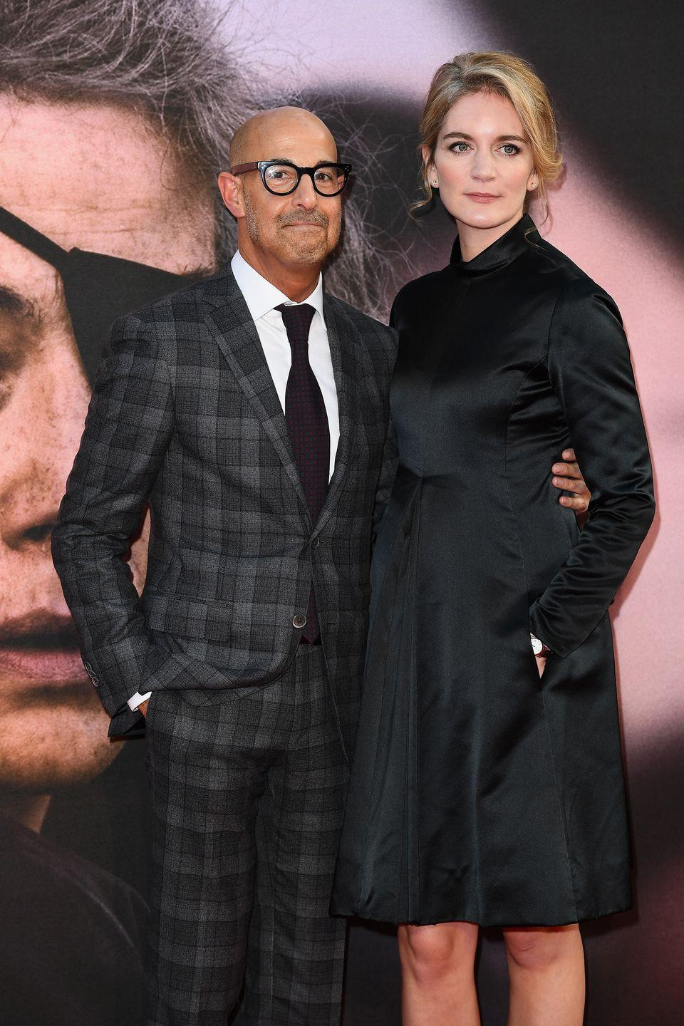 """<p>Emily Blunt later played Cupid herself, introducing her sister Felicity to her <em>The Devil Wears Prada</em> costar Stanley Tucci. <a href=""""https://www.marieclaire.com/celebrity/a26114333/who-is-felicity-blunt/"""" rel=""""nofollow noopener"""" target=""""_blank"""" data-ylk=""""slk:Sparks flew"""" class=""""link rapid-noclick-resp"""">Sparks flew</a> between the pair at Blunt and Krasinski's wedding, and they tied their own knot in 2012.</p>"""