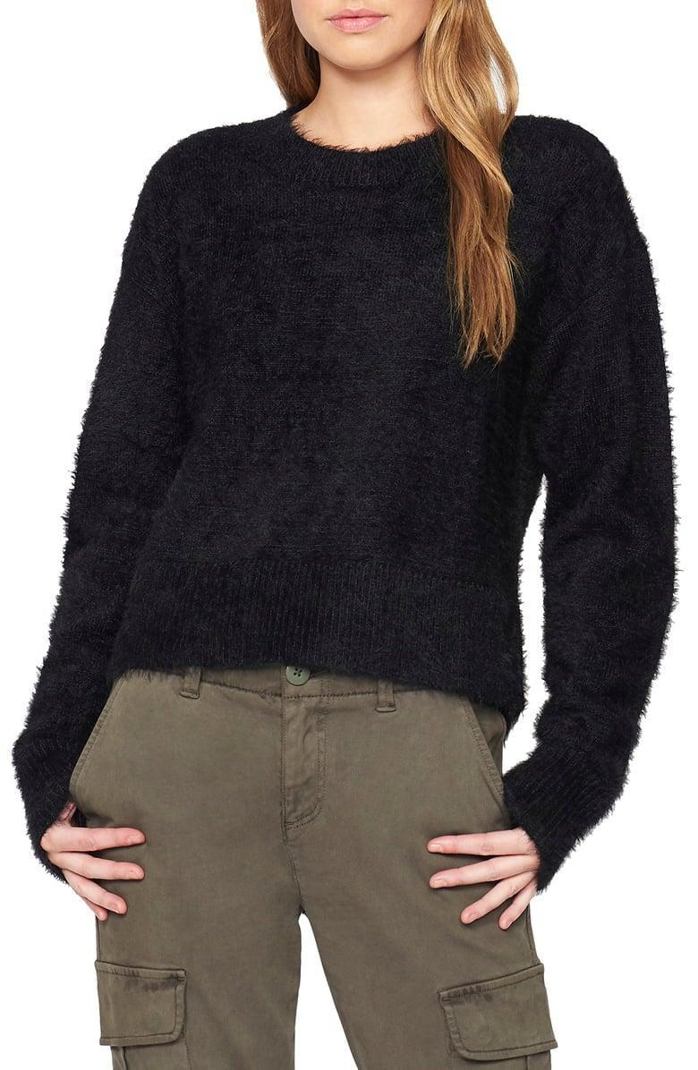 <p><span>Sanctuary Fuzzy Crewneck Sweater</span> ($37, originally $79)</p>