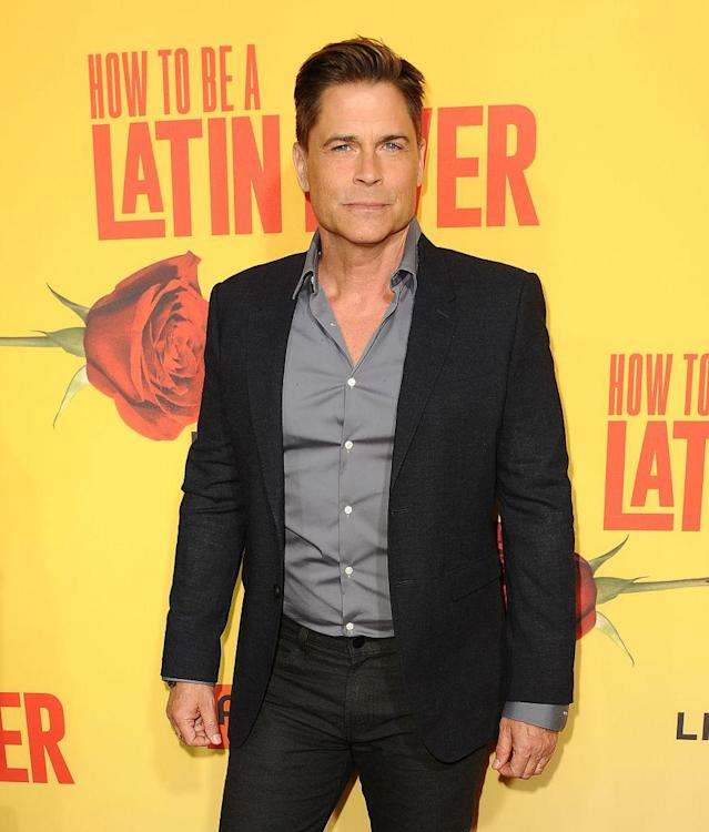 Rob Lowe attends the Hollywood premiere of <em>How to Be a Latin Lover</em> on April 26, 2017. (Photo: Jason LaVeris/FilmMagic)