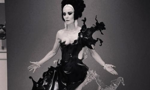 Daphne Guinness: 'I stood almost naked for six hours, being splashed with water'