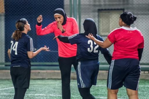 Hanan Hassan began her career as a professional football referee in 2006