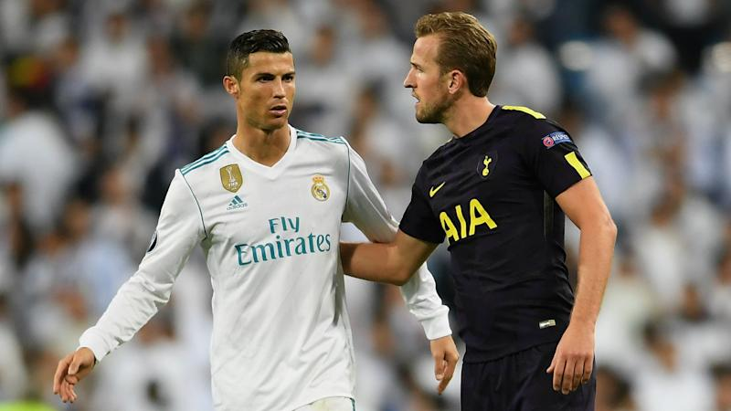 Cristiano Ronaldo, Harry Kane, Real Madrid v Tottenham, Champions League 2017/18