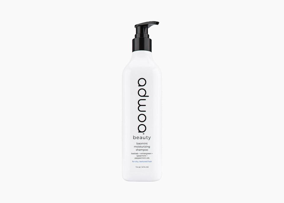 "$22, Sephora. <a href=""https://www.sephora.com/product/adwoa-beauty-baomint-moisturizing-shampoo-P457234"" rel=""nofollow noopener"" target=""_blank"" data-ylk=""slk:Get it now!"" class=""link rapid-noclick-resp"">Get it now!</a>"