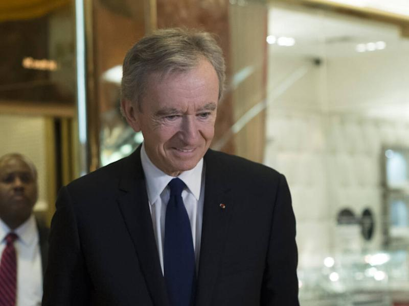 Bernard Arnault on track to become world's richest man following Tiffany & Co. deal
