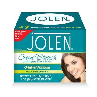 """<p>""""If you want to lighten your brows at home, the <span>Jolen Creme Bleach Set</span> ($8) is a cool way to do that. You just have to be really careful - it's a facial bleach lightener, so people use it on their mustaches - but if you want to take your brows from black to dark brown, just knock back the severity. Its a good product."""" - <a href=""""https://www.instagram.com/joeyhealybrows/"""" class=""""link rapid-noclick-resp"""" rel=""""nofollow noopener"""" target=""""_blank"""" data-ylk=""""slk:Joey Healy"""">Joey Healy</a>, celebrity brow stylist</p>"""