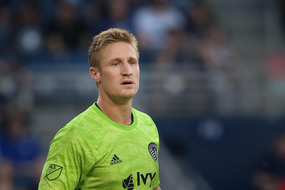 Sporting Kansas City keeper Tim Melia's reputation as the best penalty kick specialist in MLS has only grown in Orlando. (Scott Winters/Getty Images)
