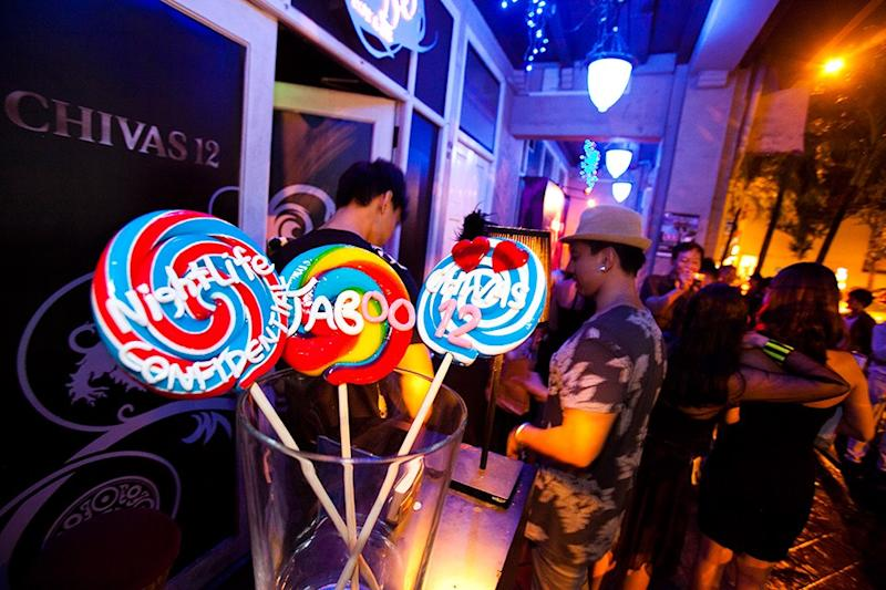 Taboo nightclub is 15 years old and going strong. (Photo: Pernod Ricard Singapore)
