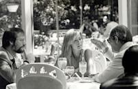 <p>Jay Bernstein, Farrah Fawcett and Tom Bosley at Tavern on the Green in New York City.</p><p>Other celebrity visitors this year: Mia Farrow, Liza Minnelli, Mark Gero.</p>